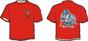 Mac Bulldog T-Shirt Layout 2016